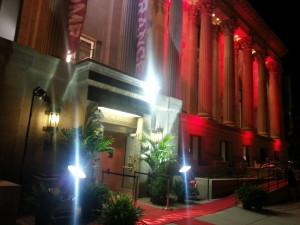 Red Carpet Entrance to McNichols Building