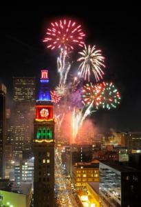 New Year's Eve Denver Fireworks